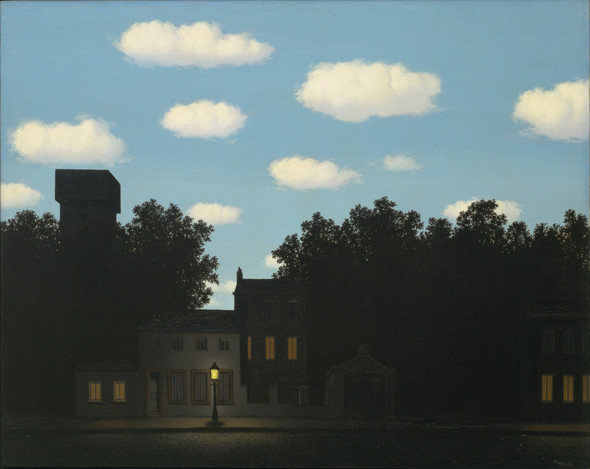 The Empire of Light II 1950 by Rene Magritte