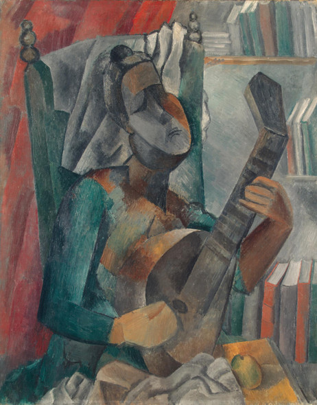 Woman with a Mandolin by Picasso