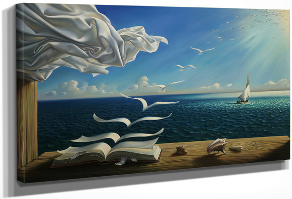 Diary of discovery by Salvador Dali