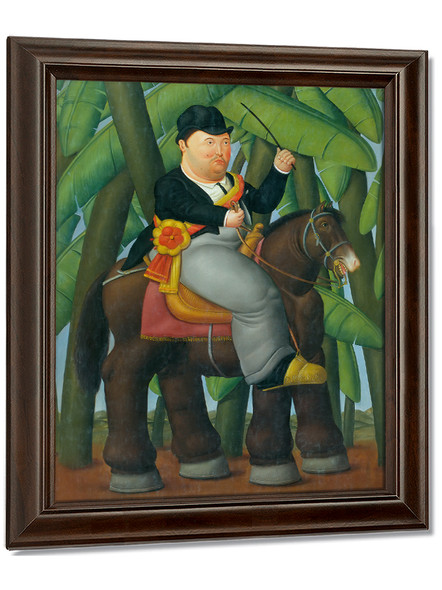 The president 1989 by Botero