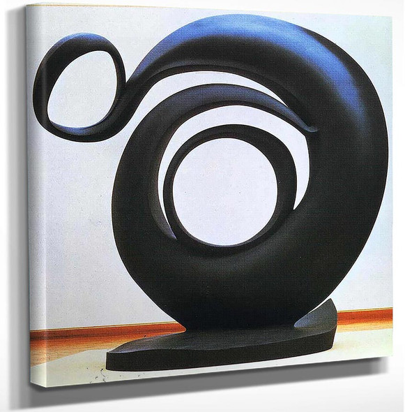 Abstraction By Georgia O Keeffe Art Reproduction from Wanford.