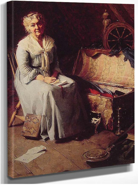 Attic Memories 1925 By Norman Rockwell