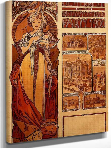 Austria 1899 By Alphonse Mucha