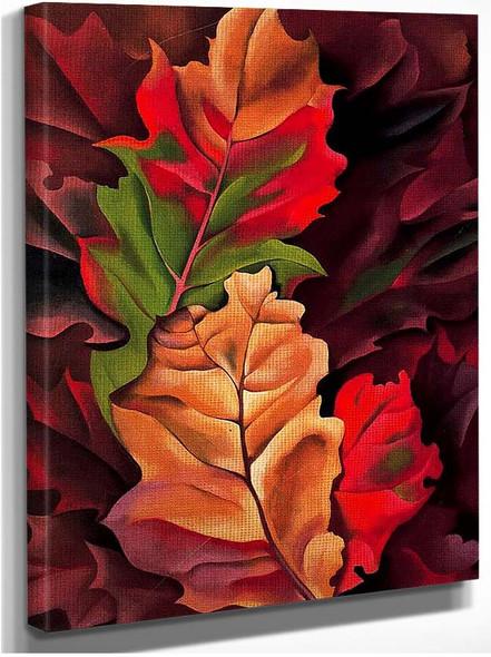 Autumn Leaves By Georgia O Keeffe