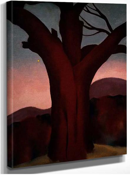 Autumn Trees Chestnut Tree By Georgia O Keeffe