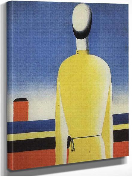 Bad Premonition By Kazimir Malevich