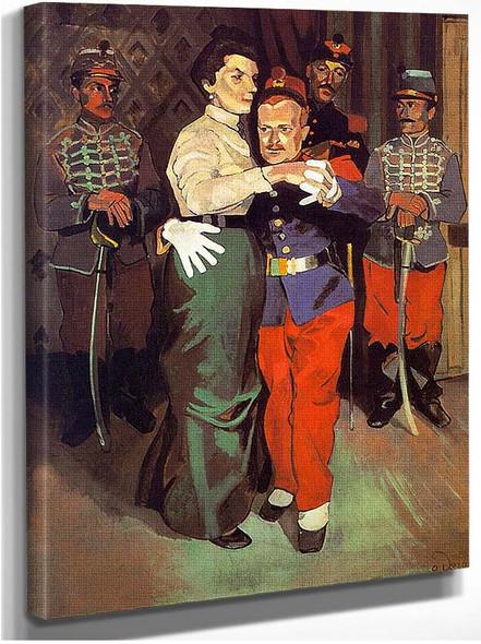 Bal Des Soldats By Andre Derain