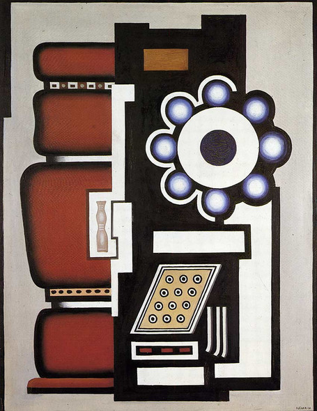 Ball Bearing 1926 By Fernand Leger Art Reproduction from Wanford