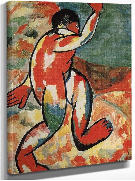 Bather 1911 By Kazimir Malevich