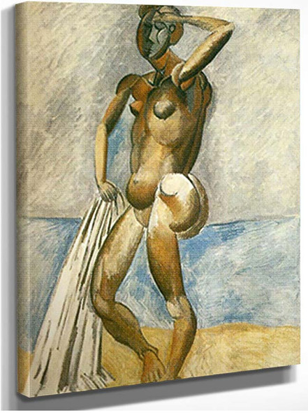 Bather0 By Pablo Picasso