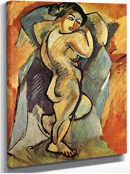 Big Nude 1908 By Georges Braque