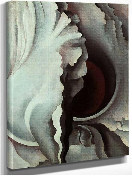 Black Iris By Georgia O Keeffe