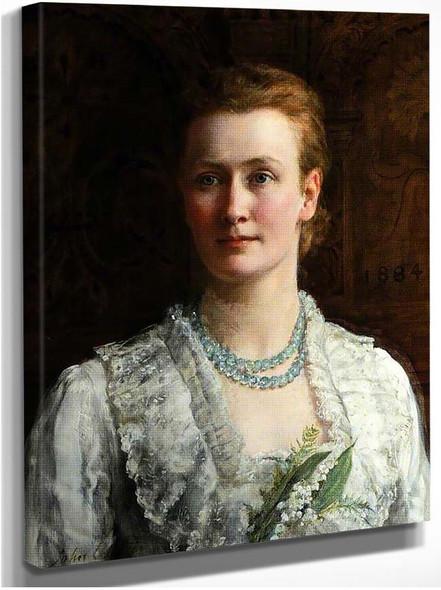 Blanche Parish Lady Shuttleworth By John Maler Collier