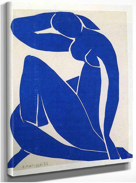 Blue Nude 1952 By Henri Matisse