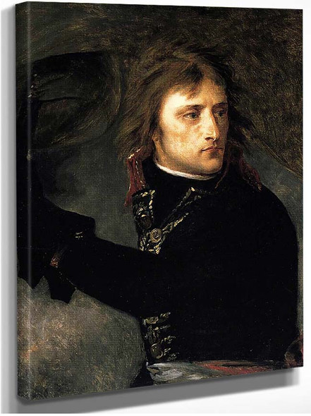 Bonaparte On The Bridge At Arcole By Gros Antoine Jean