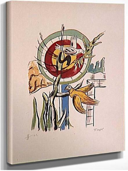 Both Birds By Fernand Leger