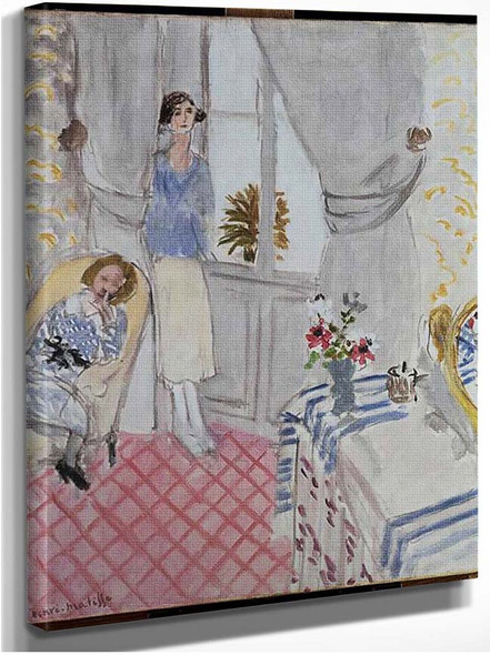 Boudoir 1921 By Henri Matisse