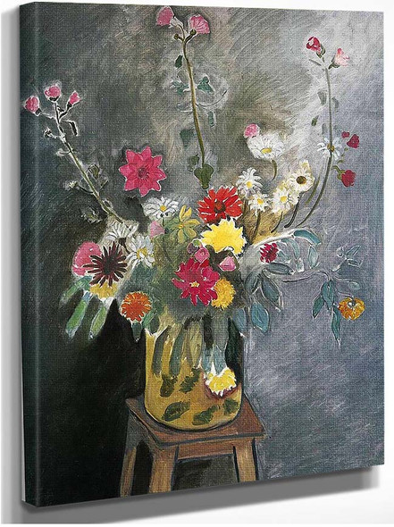 Bouquet Of Mixed Flowers 1917 By Henri Matisse