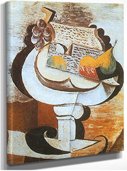 Bowl Of Fruit By Pablo Picasso