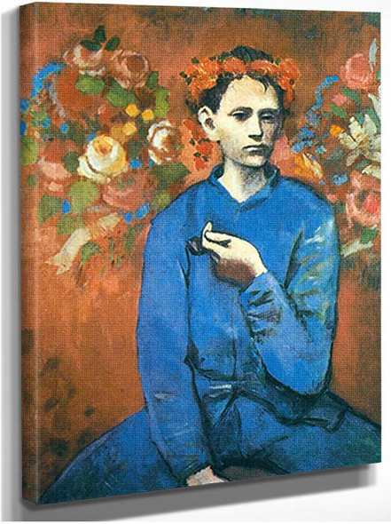Boy With A Pipe1 By Pablo Picasso