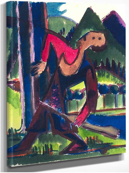 Boy With Arrow By Ernst Ludwig Kirchner