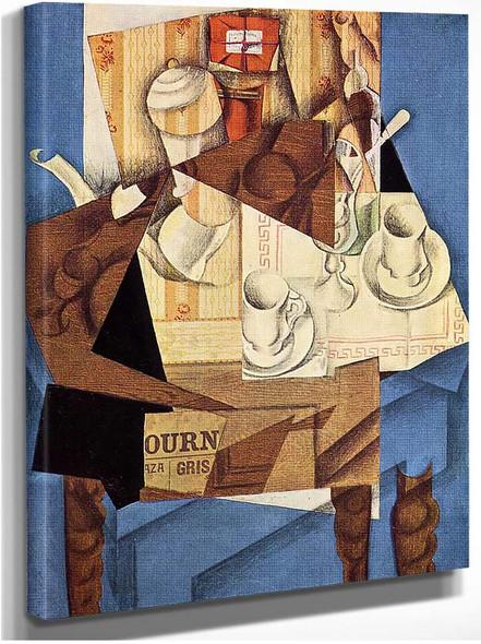 Breakfast 1914 By Juan Gris