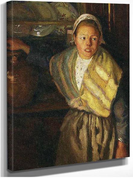 Breton Girl 1910 By Diego Rivera