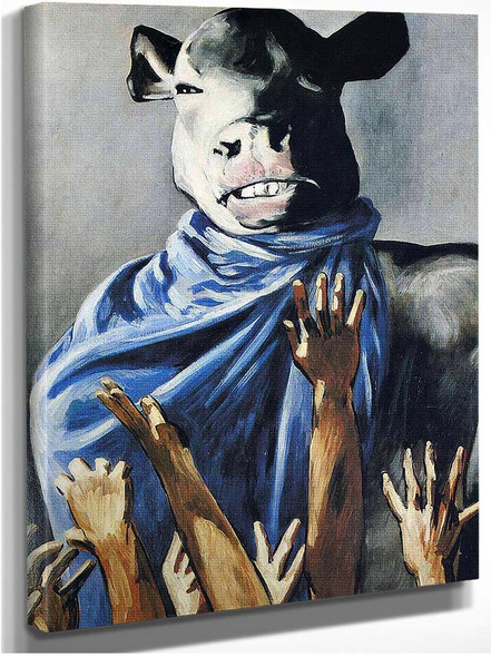 Calf Worship By Francis Picabia