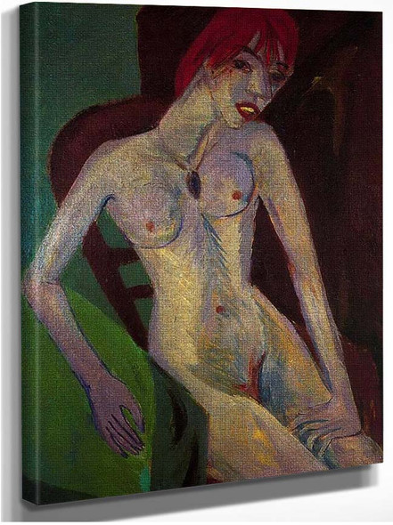 Capelli Rossi Red Hair By Ernst Ludwig Kirchner