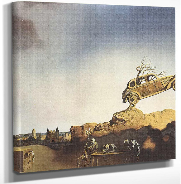 Apparition Of The Town Of Delft By Salvador Dali Art Reproduction from Wanford.
