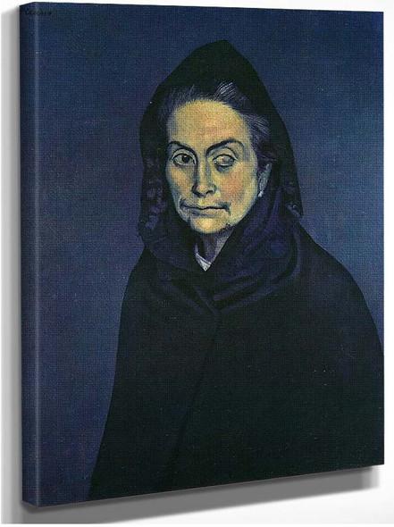 Celestina 1904 1 By Pablo Picasso