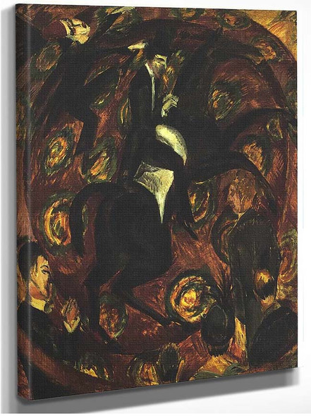 Circus Rider 1 By Ernst Ludwig Kirchner
