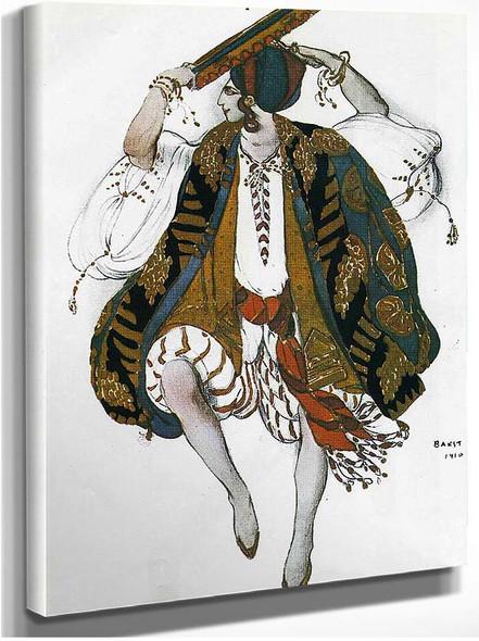 Cleopatre Danse Juive 1910 By Leon Bakst