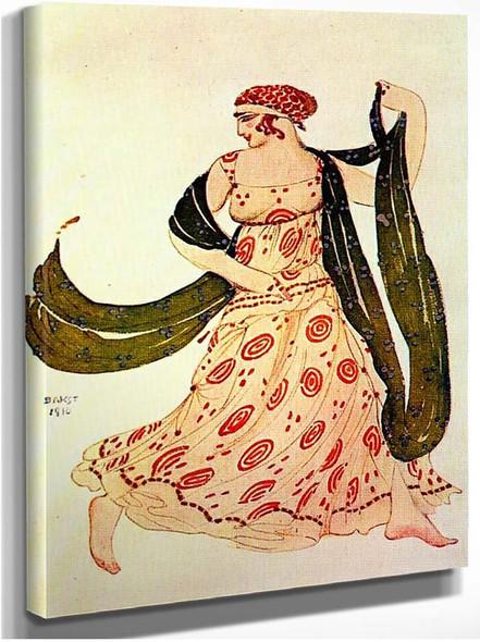 Cleopatre Greek Dancer 1910 By Leon Bakst