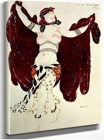 Cleopatre Syrian Dance 1909 By Leon Bakst