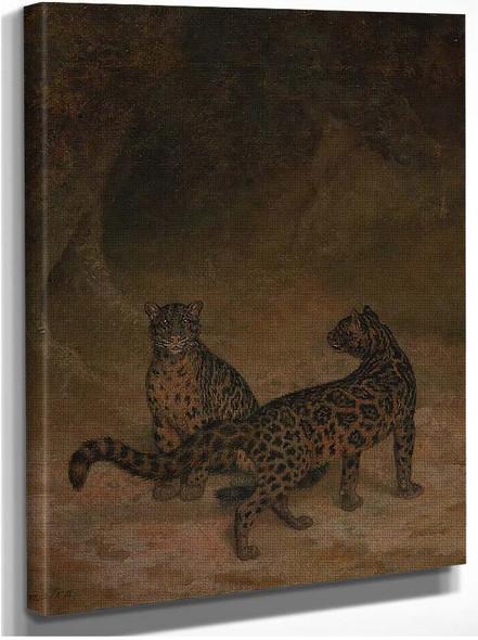 Clouded Leopards By Jacques Laurent Agasse