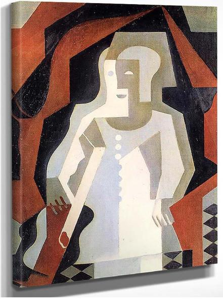 Clown 1919 By Juan Gris