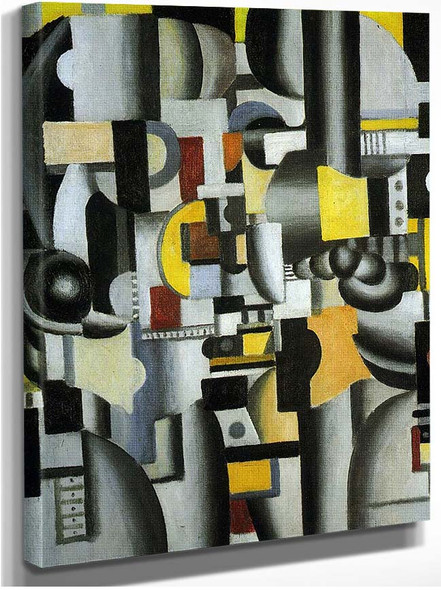Composition 1920 By Fernand Leger