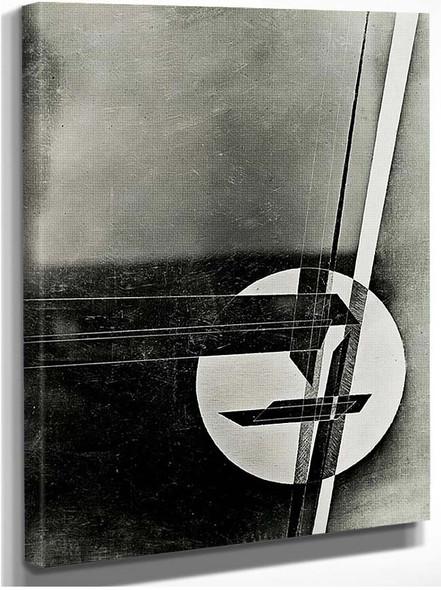Composition 1 By Laszlo Moholy Nagy