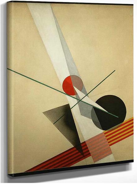 Composition A Xxi 1925 By Laszlo Moholy Nagy