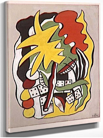 Composition Dominoes By Fernand Leger