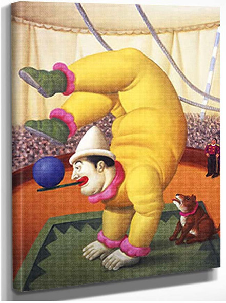 Contortionist3 By Fernando Botero