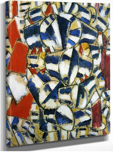 Contrast Of Form 1913 By Fernand Leger