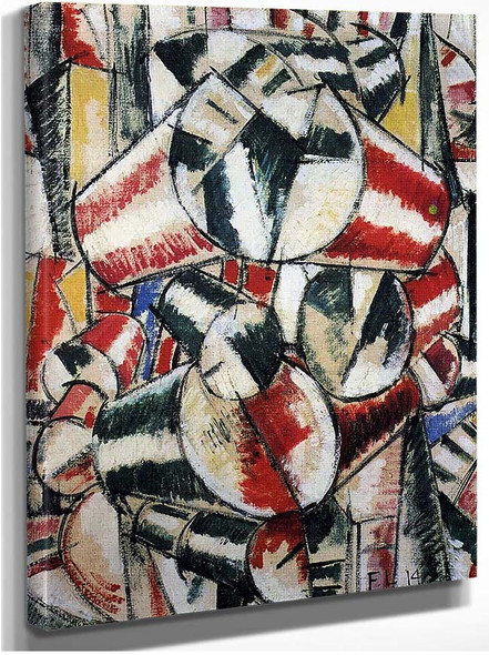 Contrast Of Form 1914 By Fernand Leger
