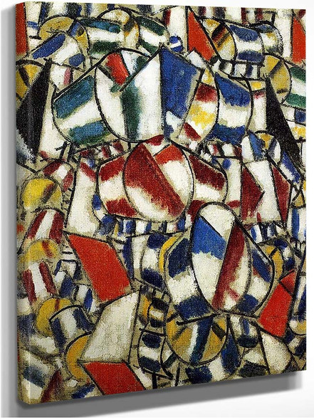 Contrast Of Forms 1913 By Fernand Leger