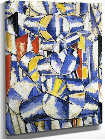 Contrast Of Forms 1914 By Fernand Leger