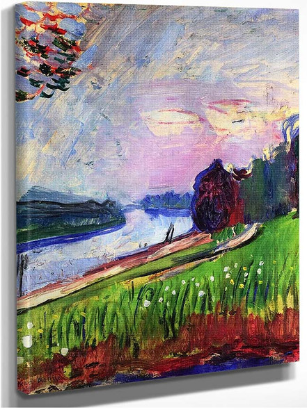 Copse Of The Banks Of The Garonne By Henri Matisse