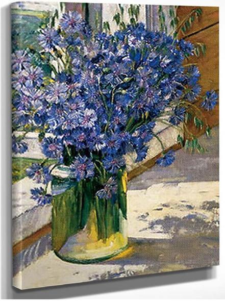 Cornflowers In A Ray Of Sunshine 1930 By Konstantin Yuon