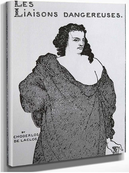 Count Valmont 1896 By Aubrey Beardsley