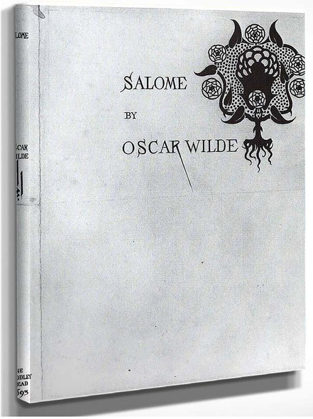 Cover And Spine 1893 1893 By Aubrey Beardsley